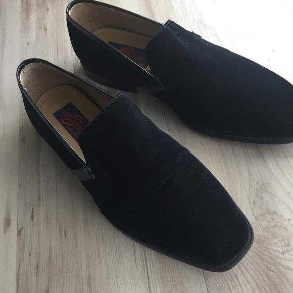 6d5ad31b6768a Giorgio Brutini Other - Giorgio Brutini Black Velvet Tuxedo Shoes Loafer